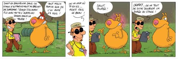 Strip Michel chien fidèle