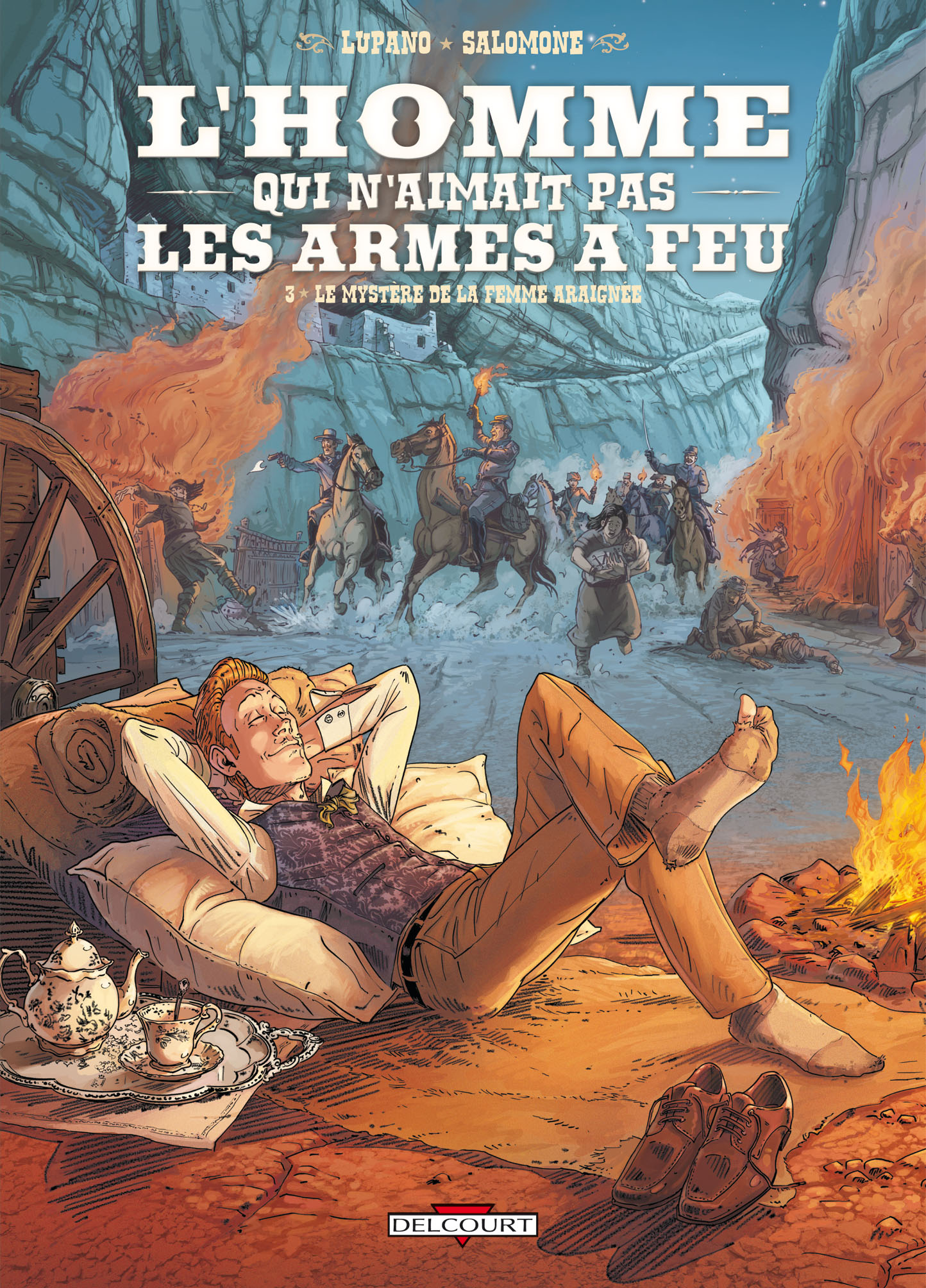 L'Homme qui n'aimait pas les armes à feu #3 couverture