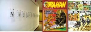 Exposition «Arthur le fantôme dans les bras de M.Gire», Festival BD Sibiu 2013 + 1)Réédition de Rahan en langue roumaine, 2010, éditions Adevarul