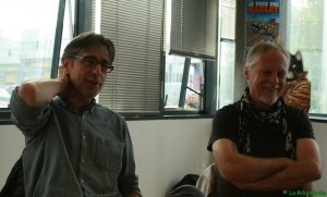 Marc Cuadrado et Frank Margerin