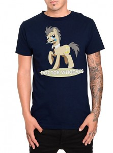 T-shirt Dr.Whooves chez Hot Topic