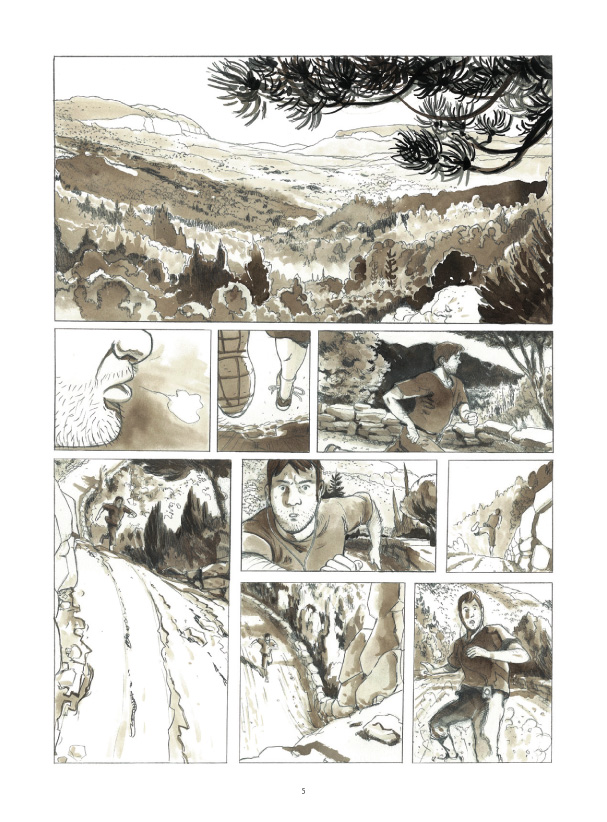 Cases blanches planche 1