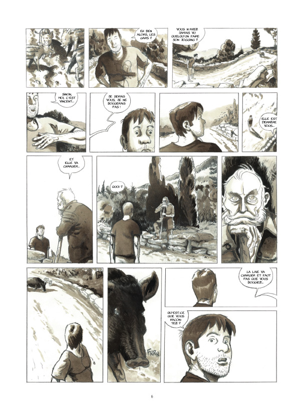 Cases blanches planche 2