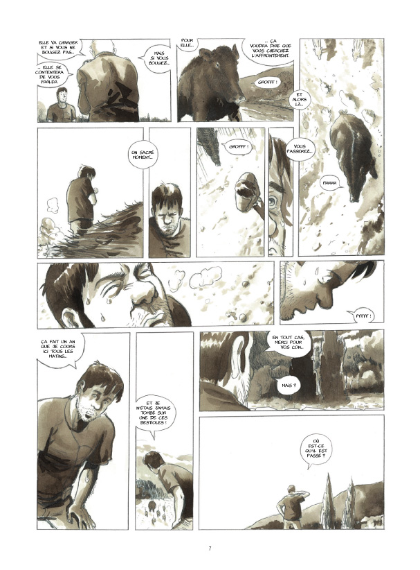 Cases blanches planche 3