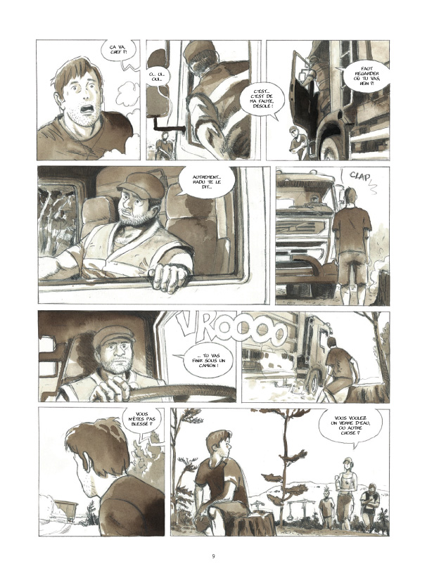 Cases blanches planche 5