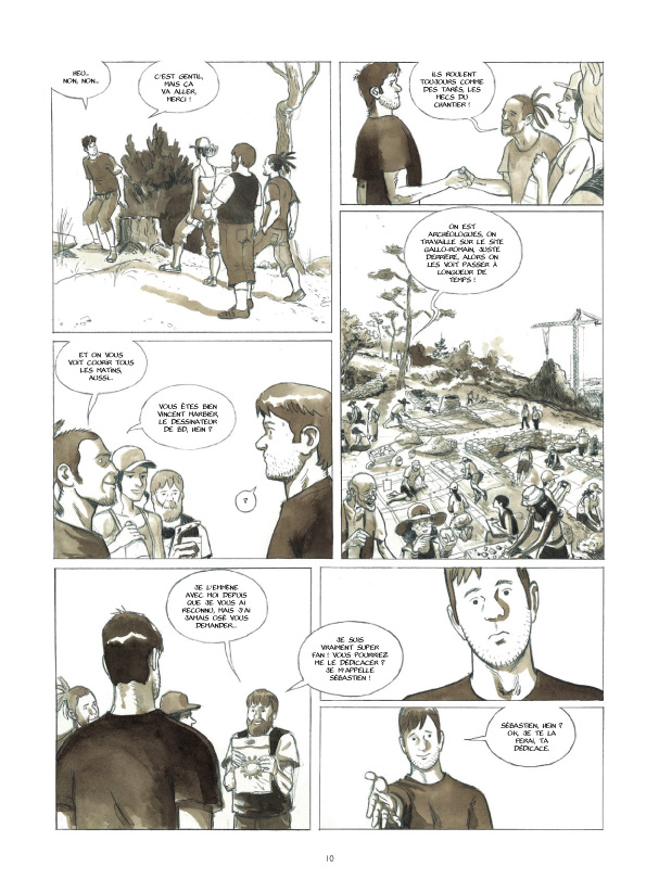 Cases blanches planche 6