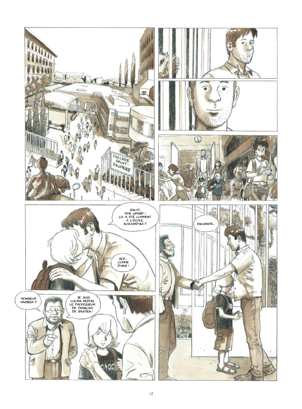 Cases blanches planche 8