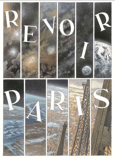 Revoir Paris - Par Benoît Peeters & François Schuiten - Ed. Casterman