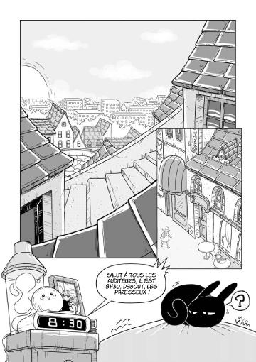 Isaline manga planche 1