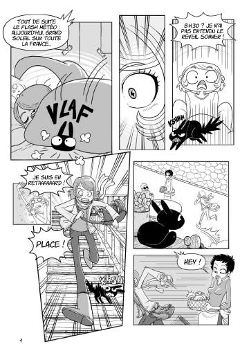 Isaline manga planche 2