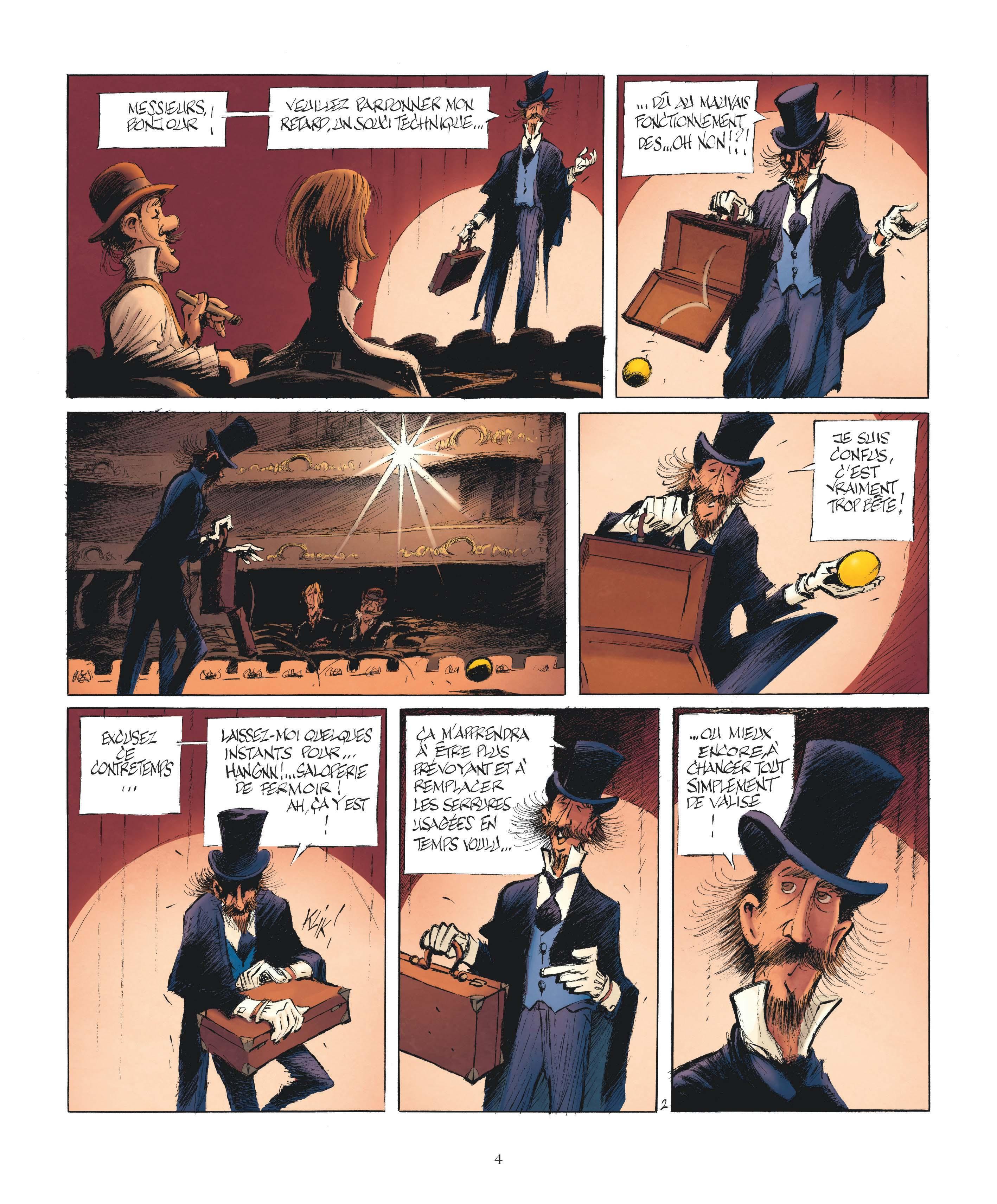 Le Magicien de Whitechapel page 2