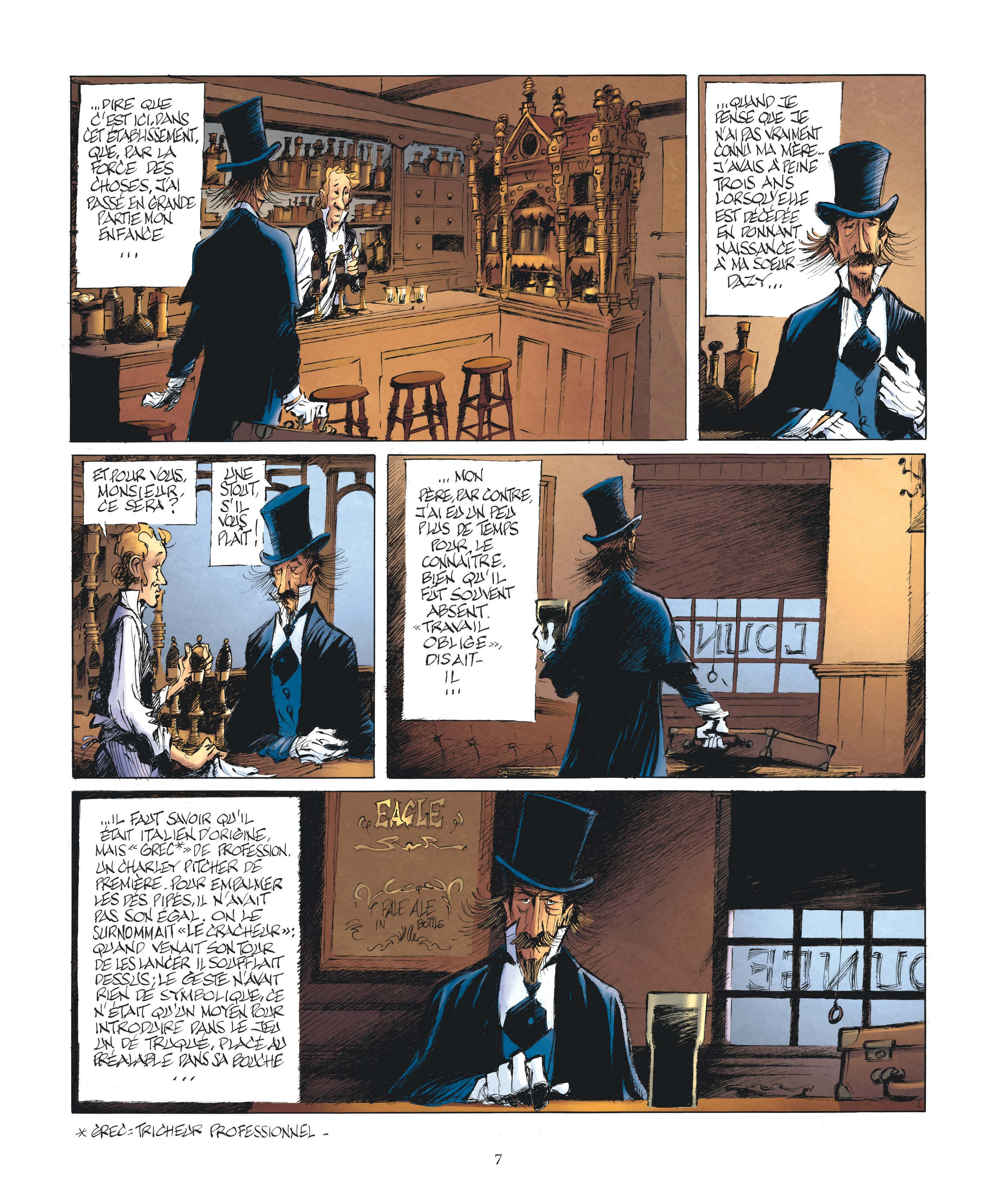 Le Magicien de Whitechapel page 5