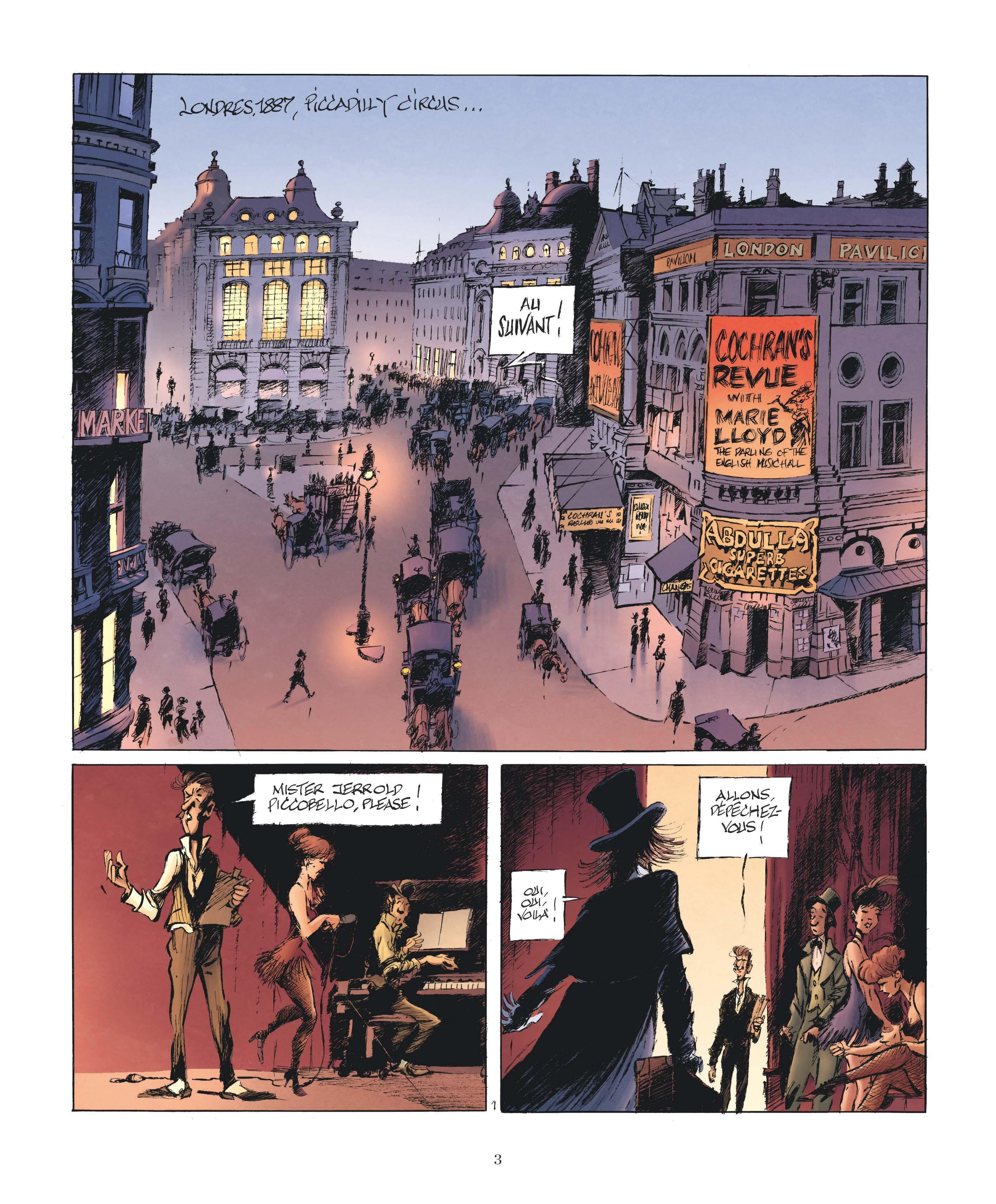 Le Magicien de Whitechapel page 1