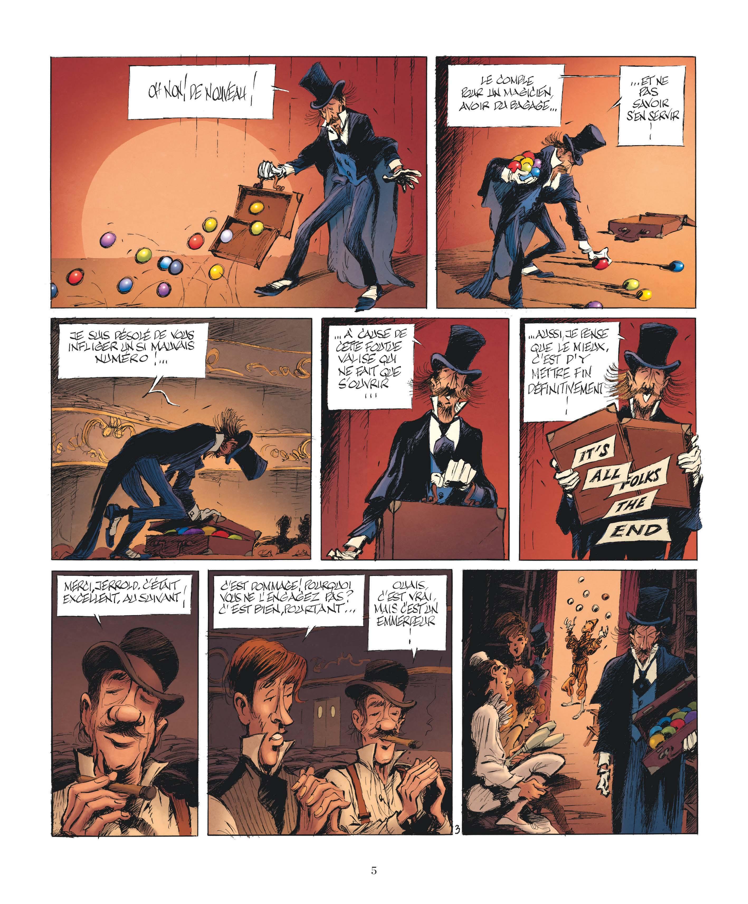 Le Magicien de Whitechapel page 3