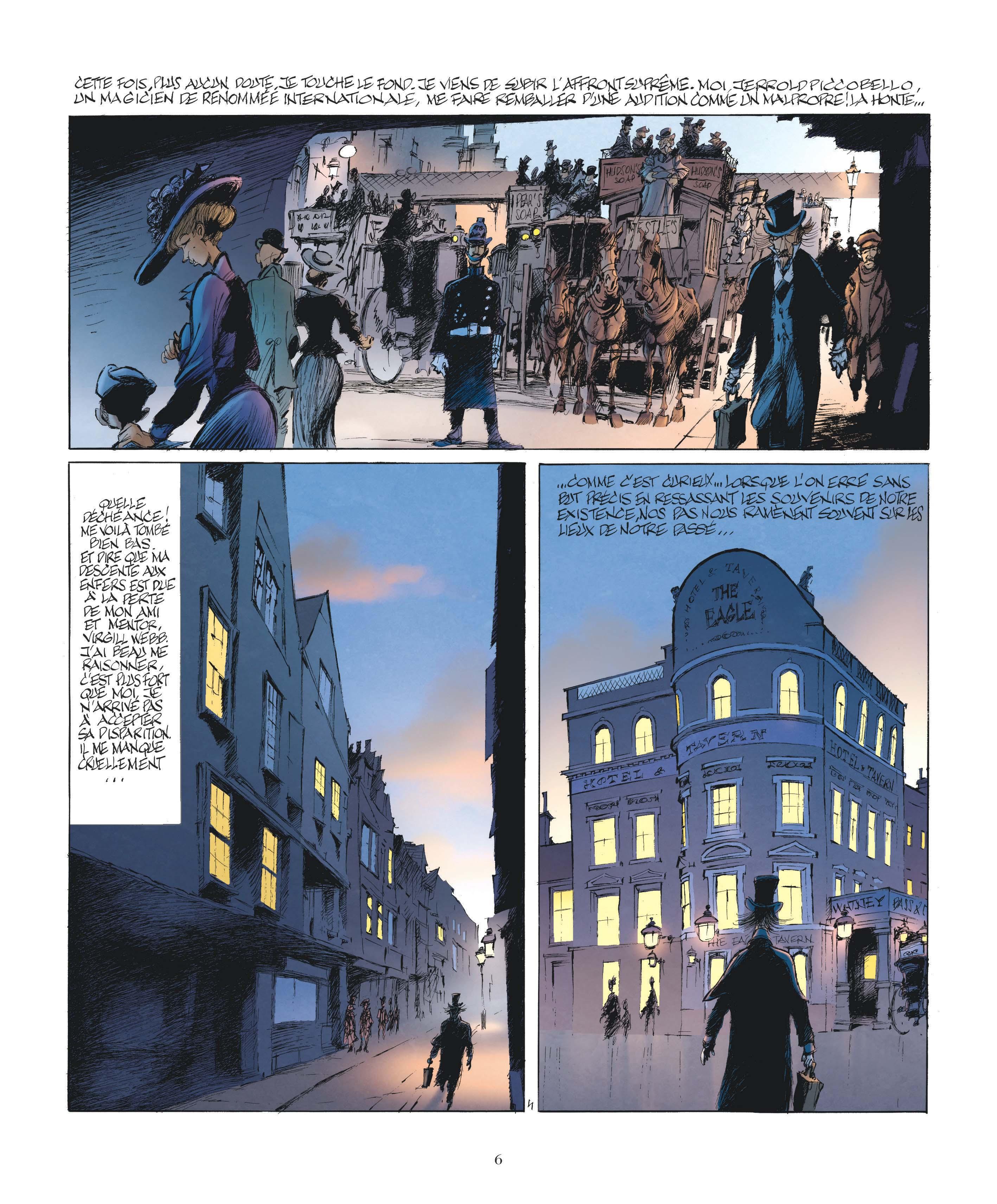 Le Magicien de Whitechapel page 4