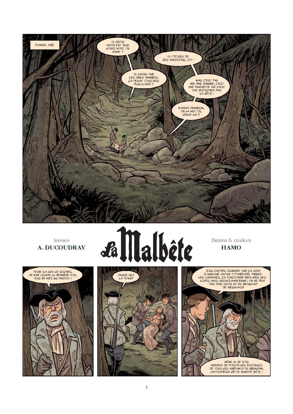 Pages de MALBETE (LA) T1-1