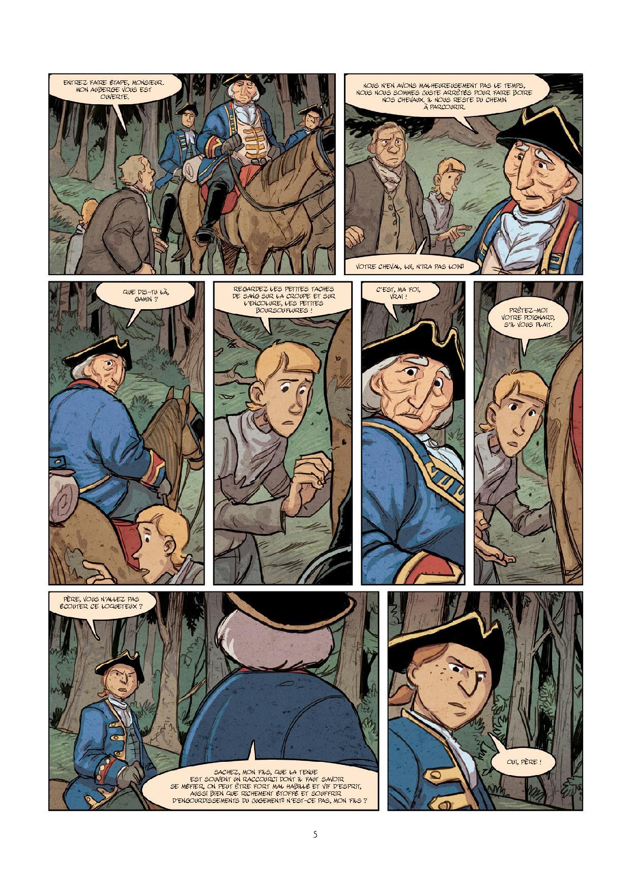 Pages de MALBETE (LA) T1-3