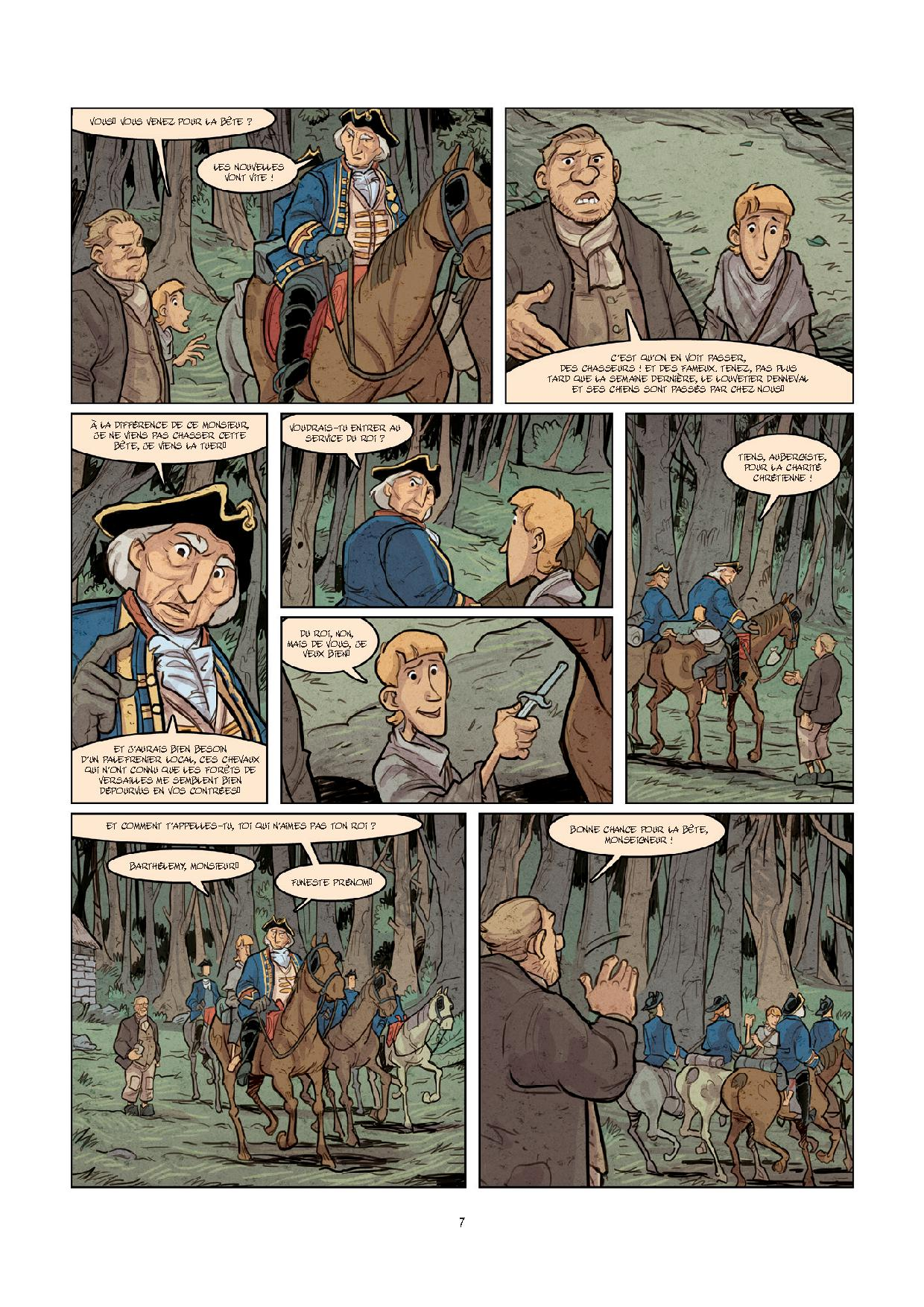 Pages de MALBETE (LA) T1-5
