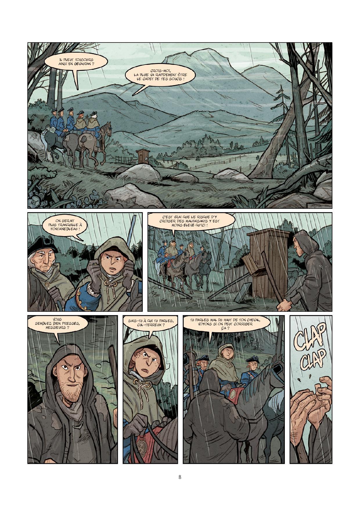 Pages de MALBETE (LA) T1-6