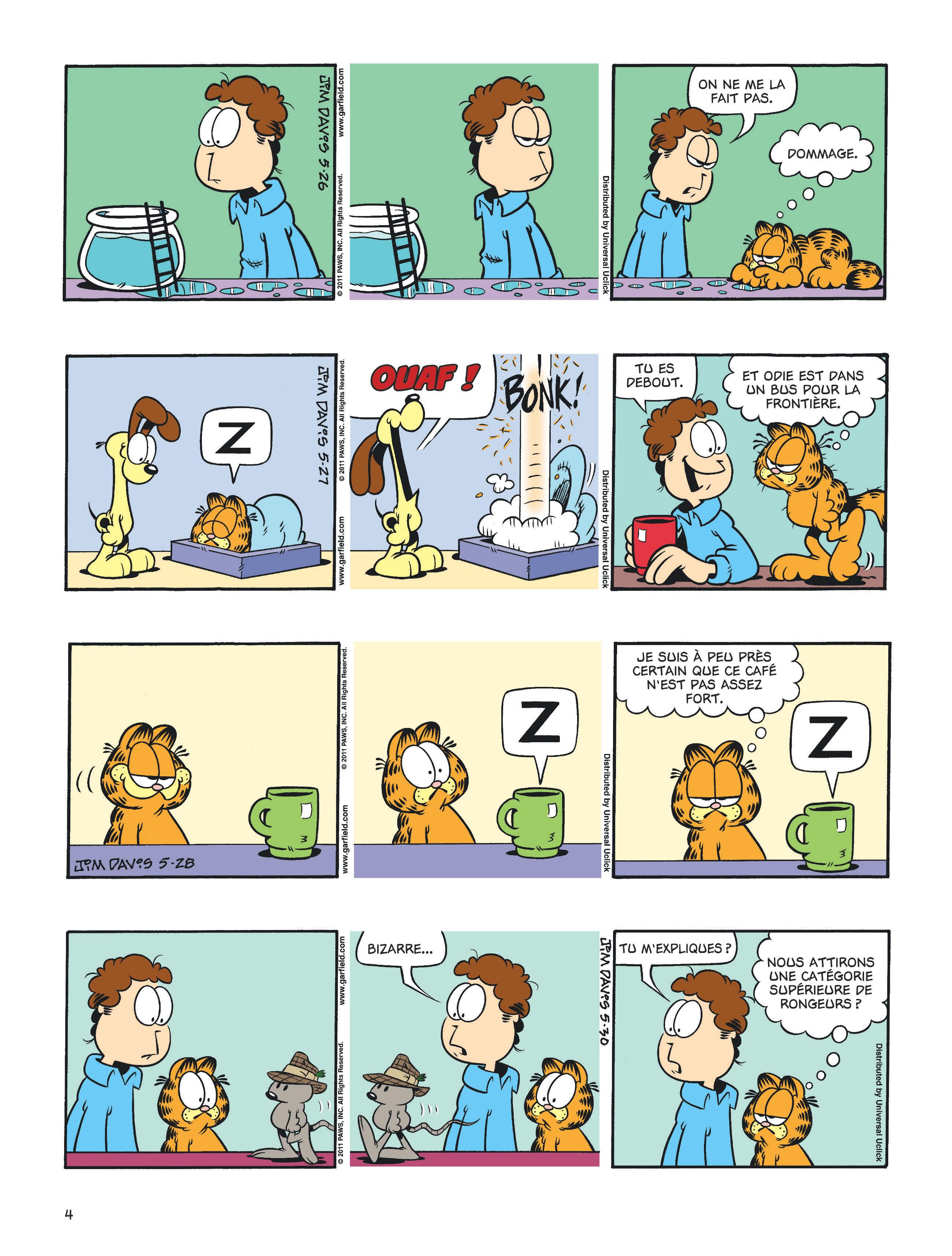 Garfield #60 planche 2