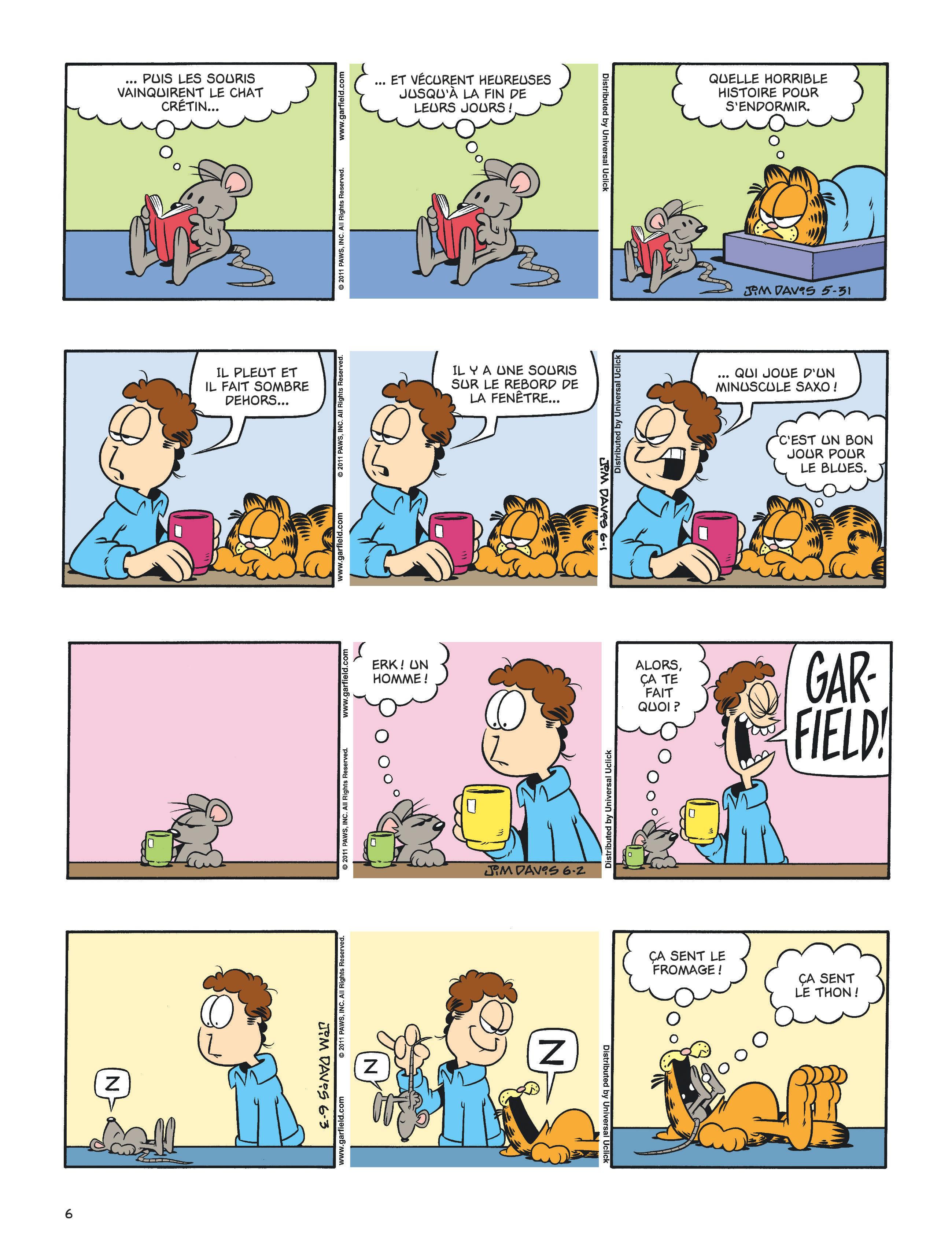 Garfield #60 planche 4