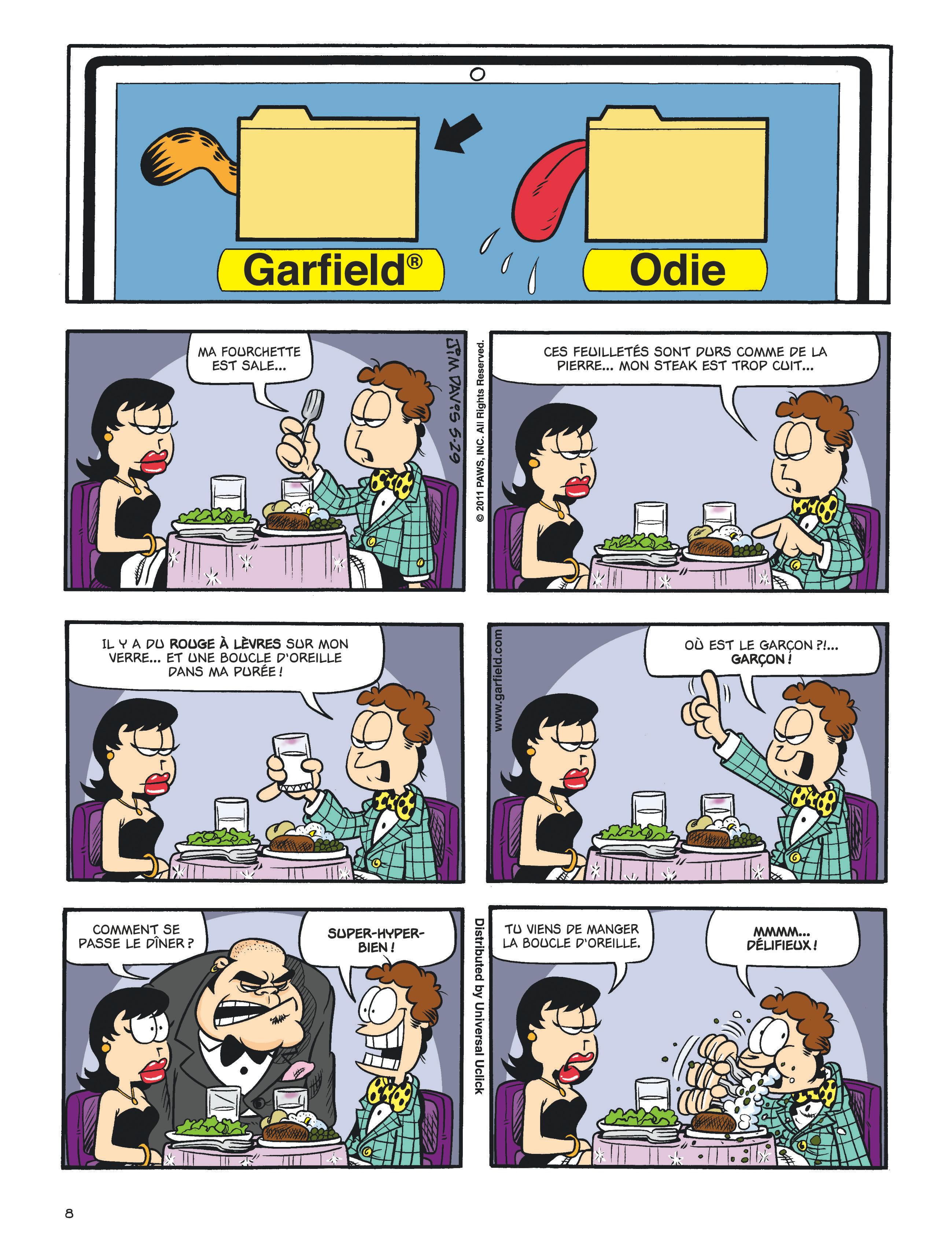 Garfield #60 planche 6