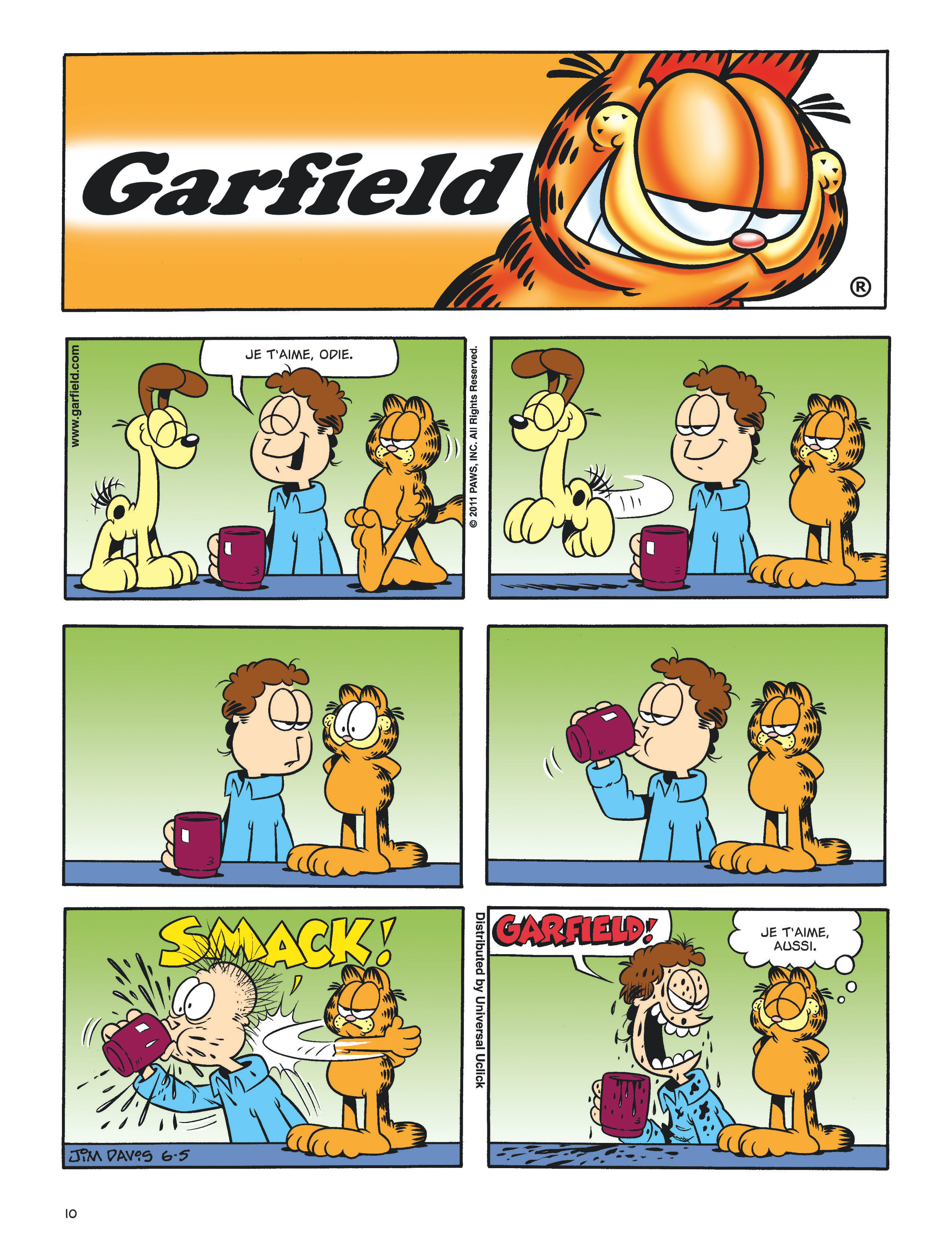 Garfield #60 planche 8