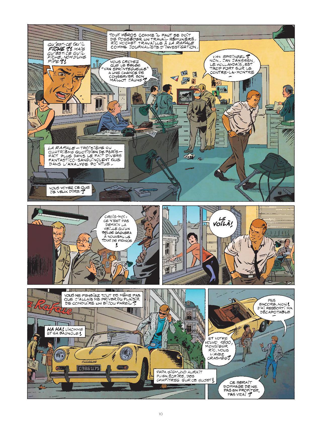 Les nouvelles enquêtes de Ric Hochet #1 Page 10