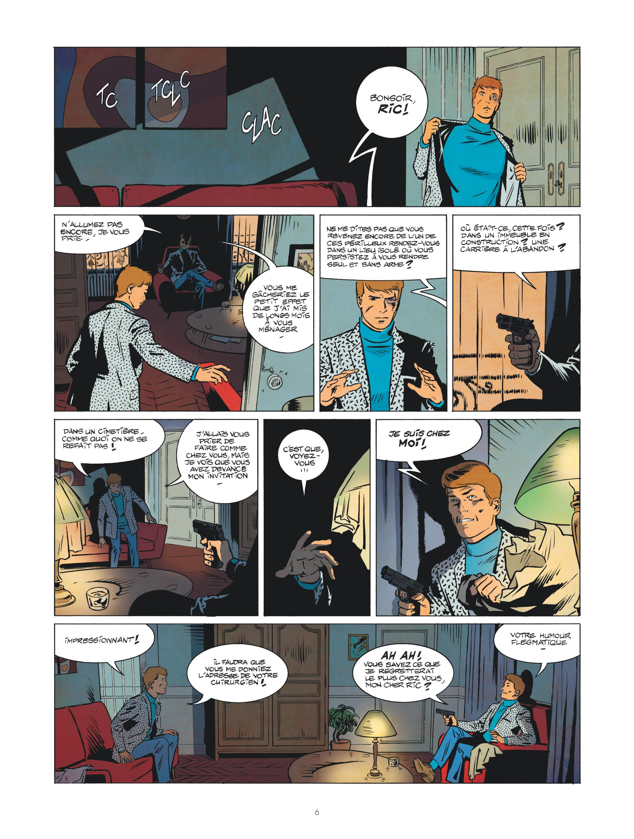 Les nouvelles enquêtes de Ric Hochet #1 Page 6
