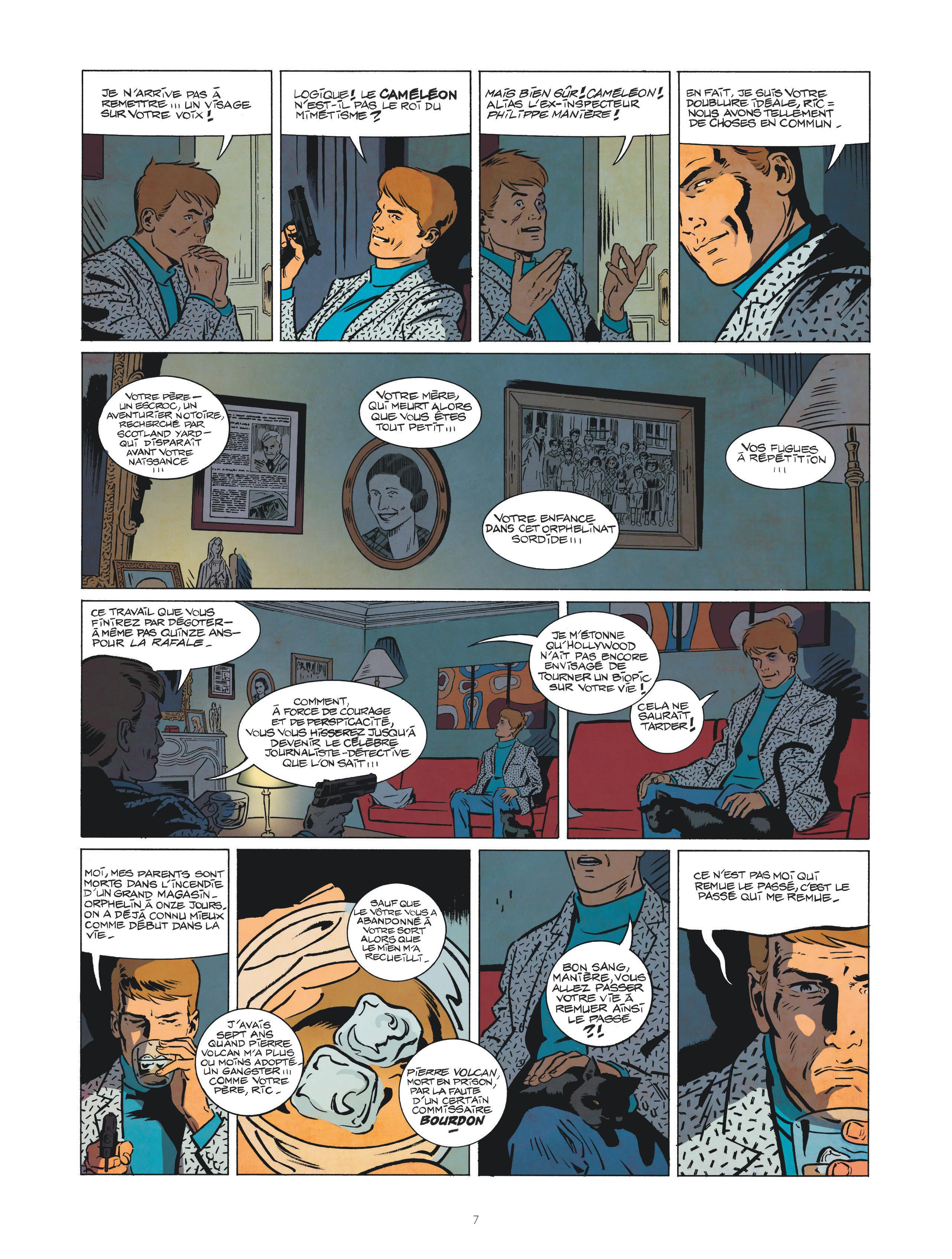 Les nouvelles enquêtes de Ric Hochet #1 Page 7
