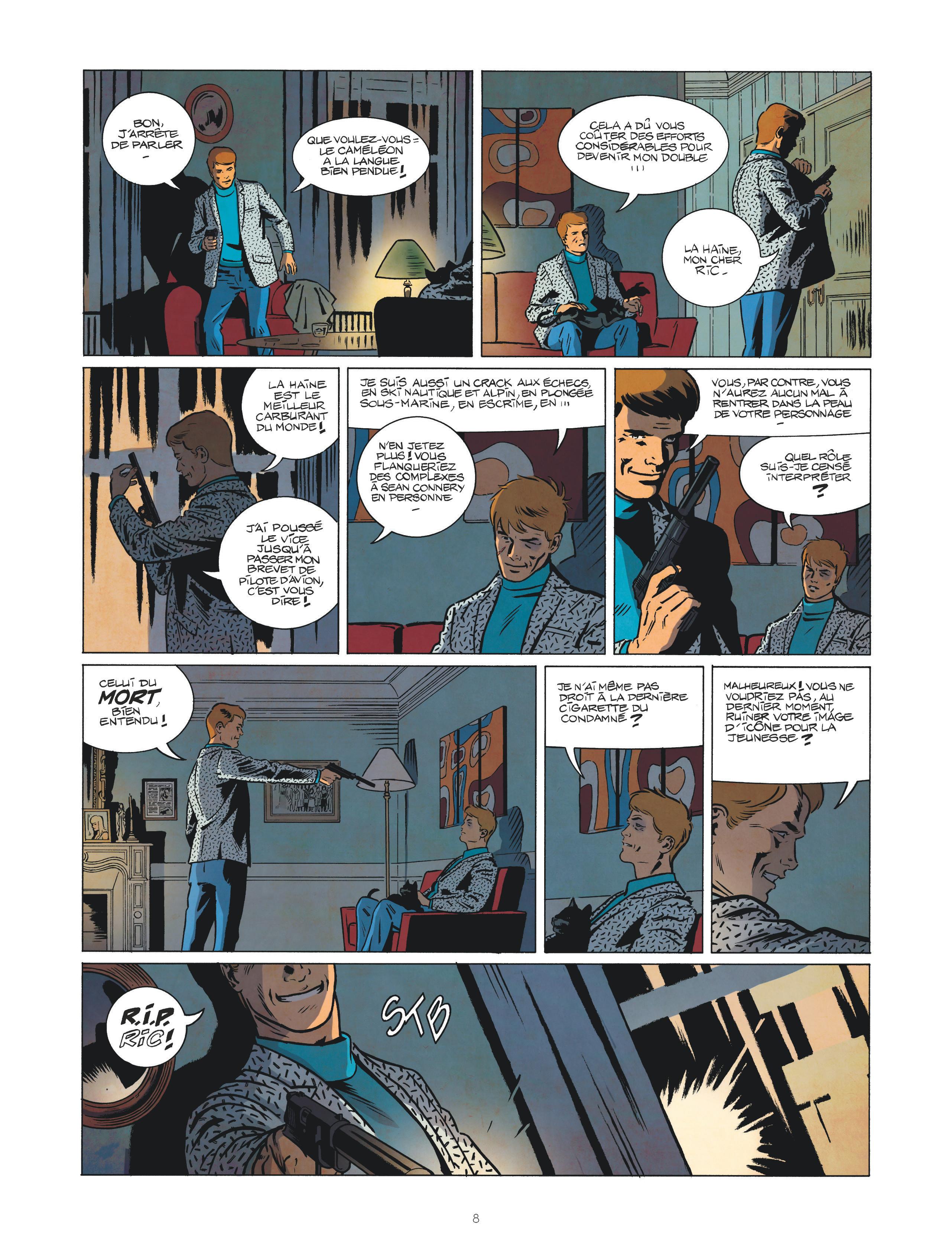 Les nouvelles enquêtes de Ric Hochet #1 Page 8
