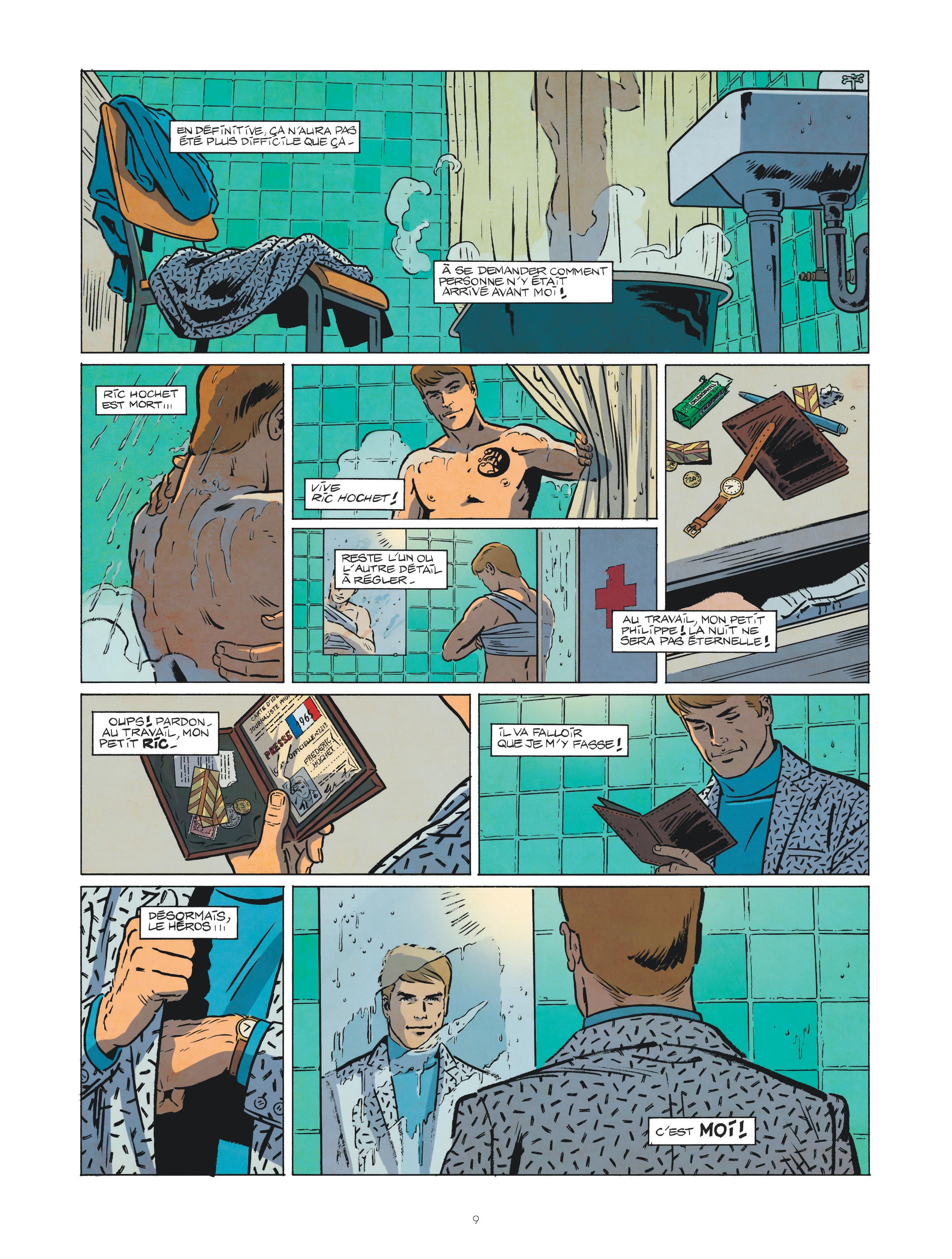 Les nouvelles enquêtes de Ric Hochet #1 Page 9