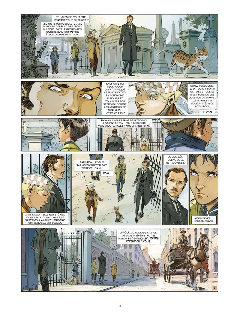 Les Quatre de Baker Street #6 planche 2