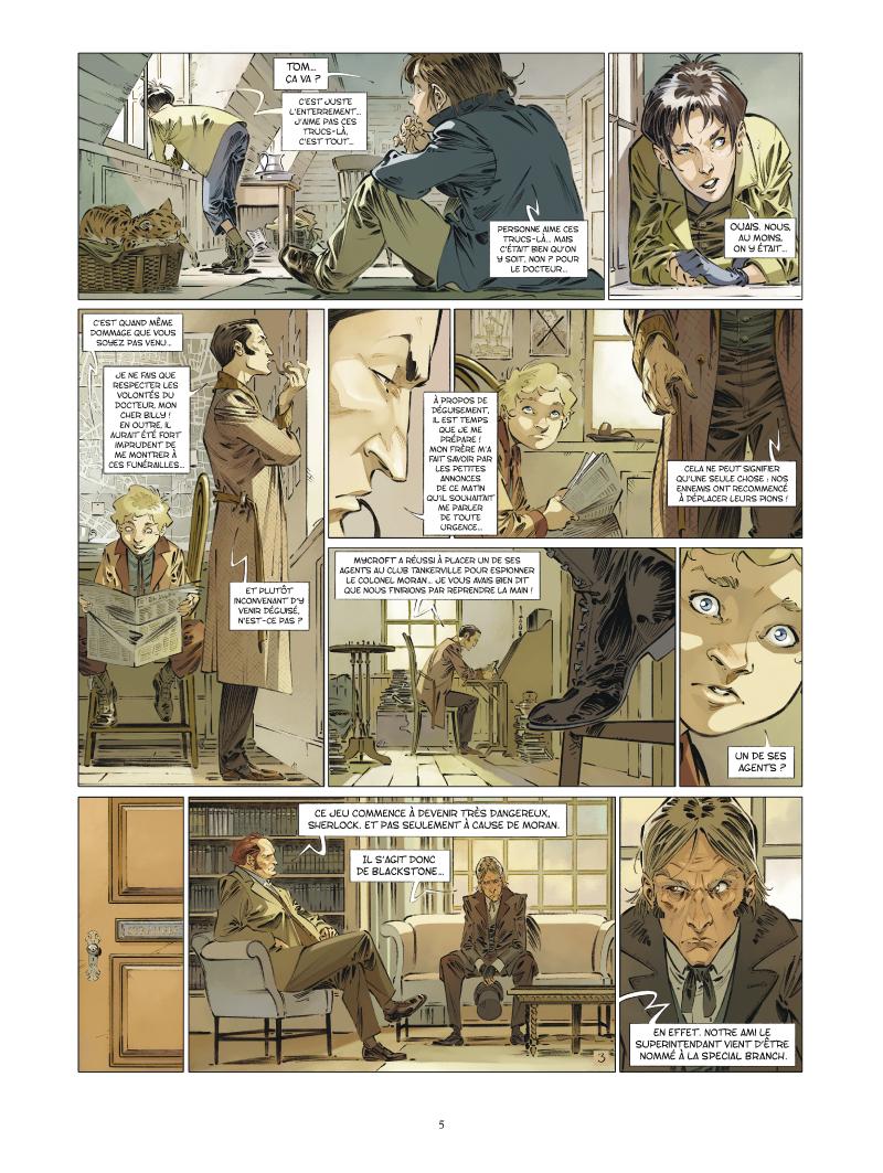 Les Quatre de Baker Street #6 planche 3