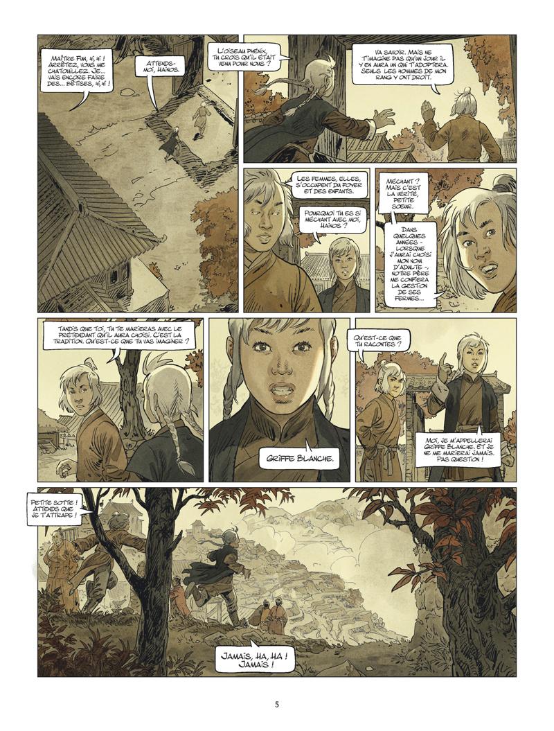 Griffe Blanche #3 planche 3