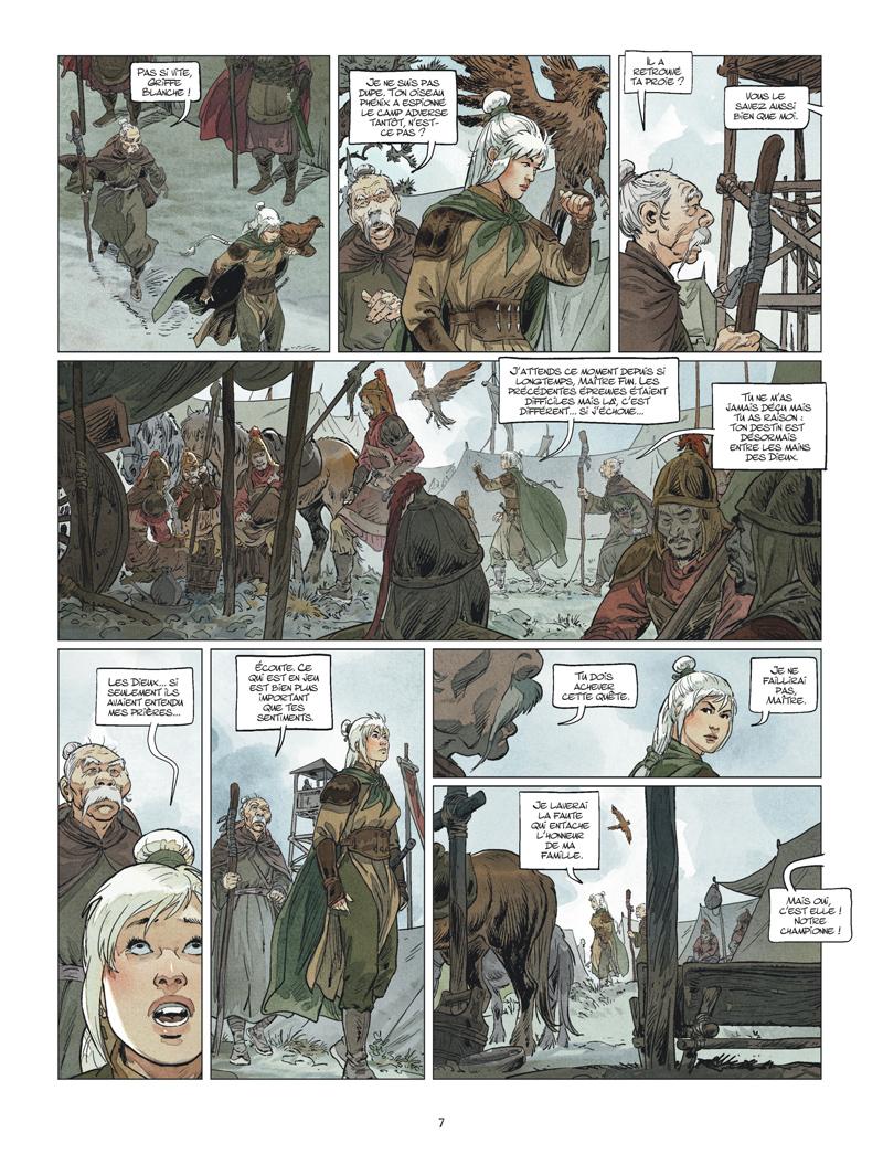 Griffe Blanche #3 planche 5