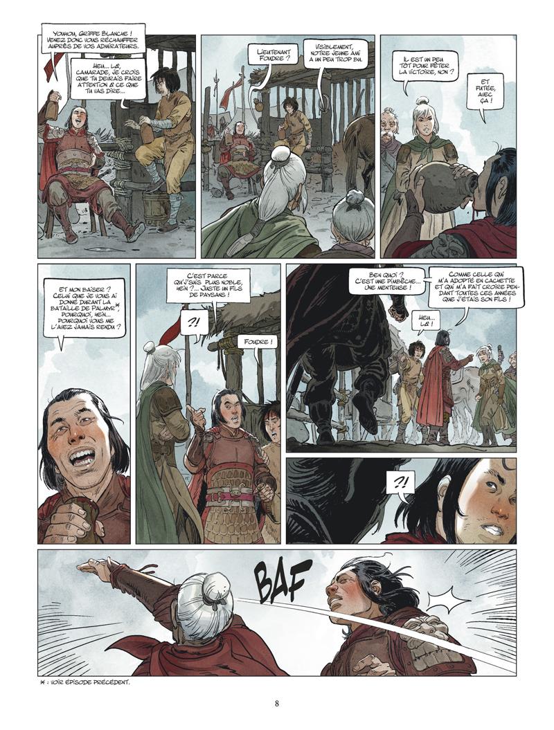 Griffe Blanche #3 planche 6