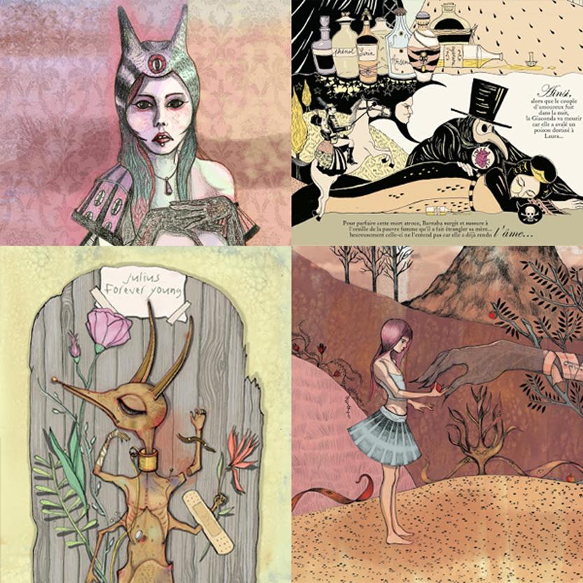 Illustrations Sybille Titieux de la Croix #1