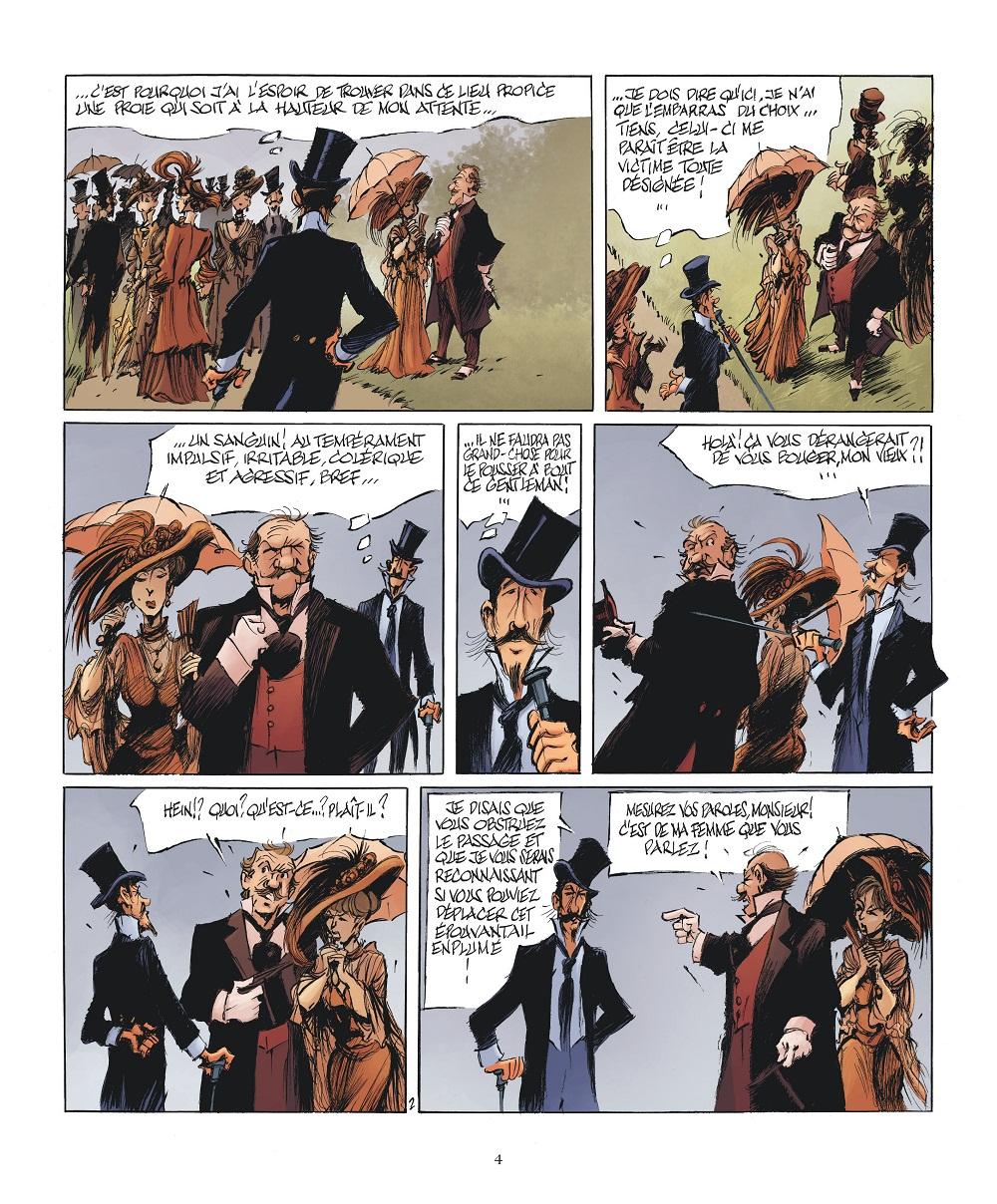 Le Magicien de Whitechapel #2 planche 2