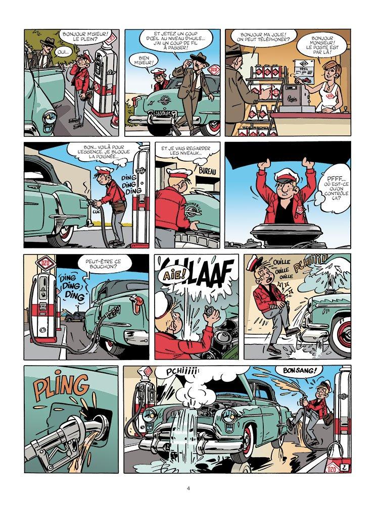Une aventure de Jacques Gipar #6 planche 2