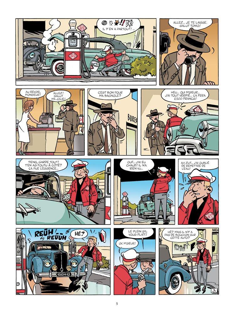 Une aventure de Jacques Gipar #6 planche 3