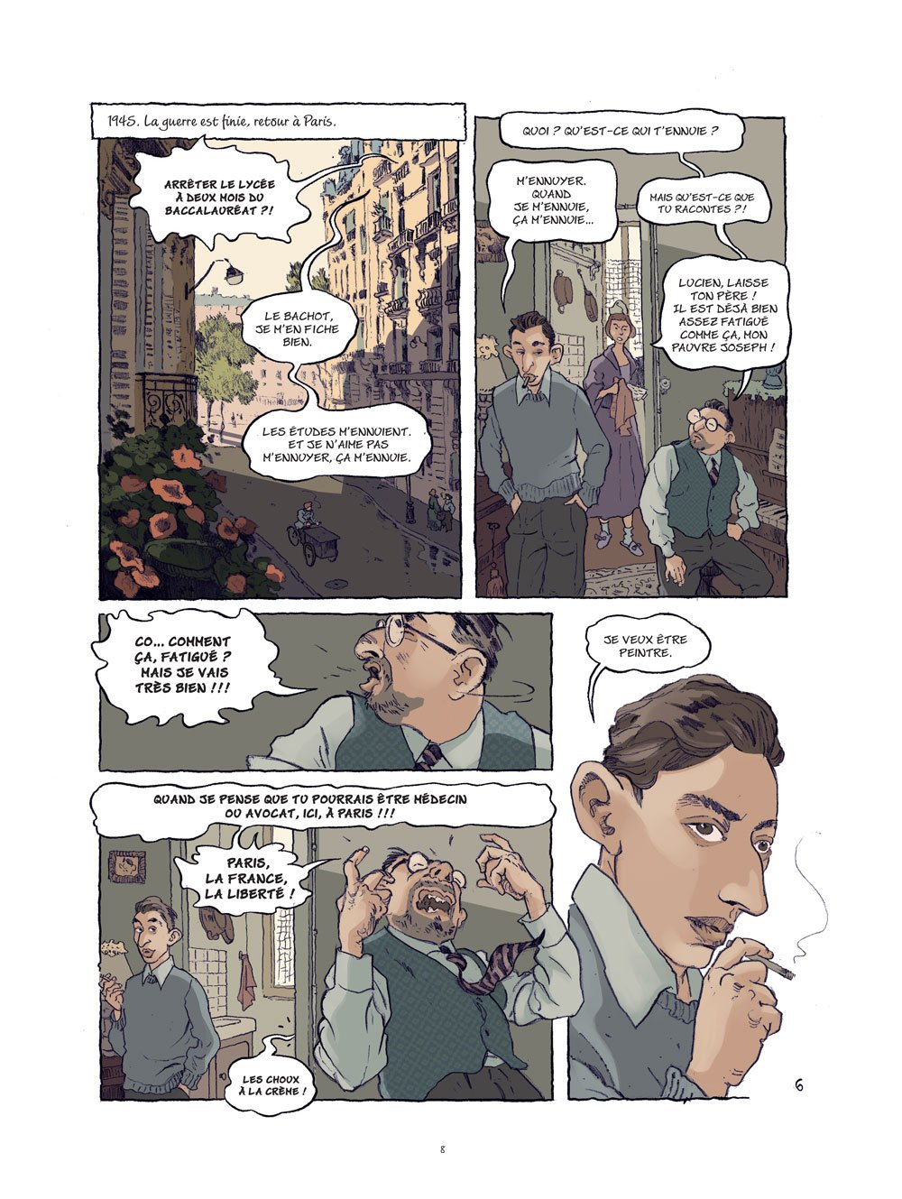 Gainsbourg planche 1