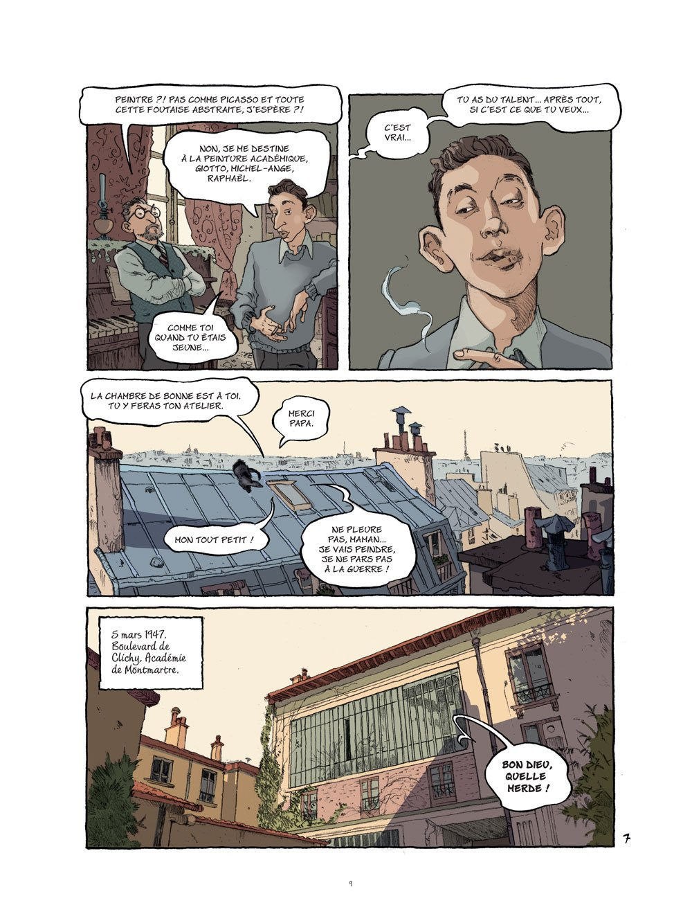 Gainsbourg planche 2