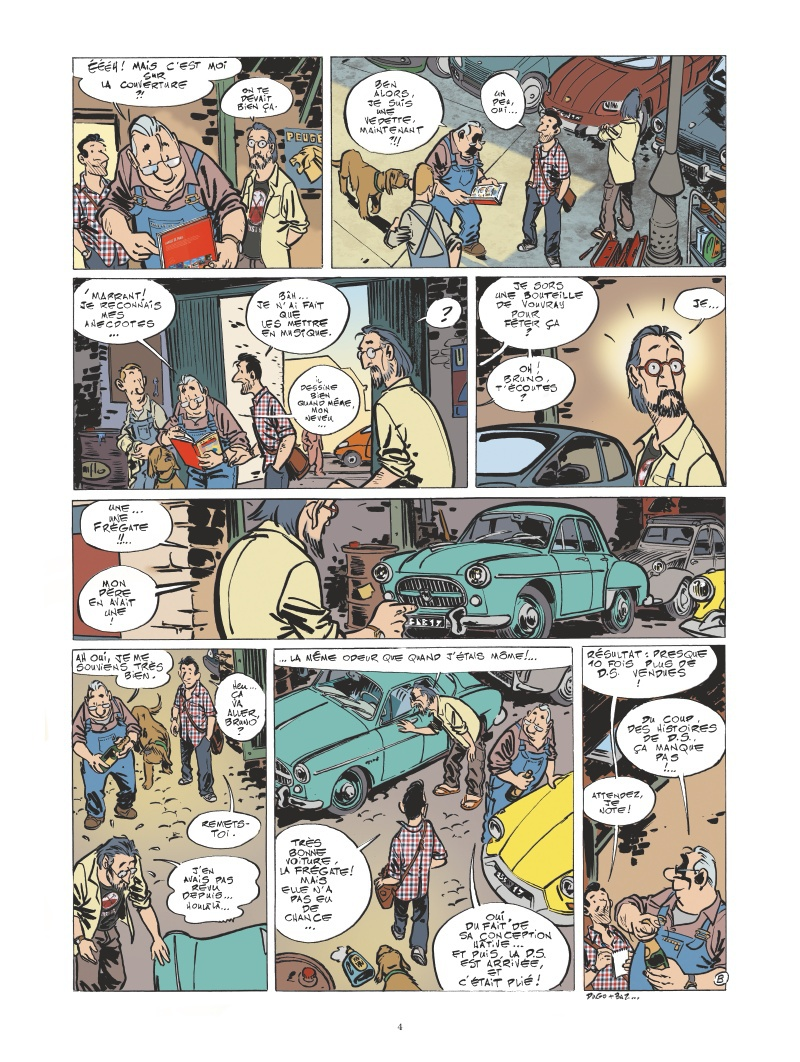 Le garage de Paris #2 planche 2