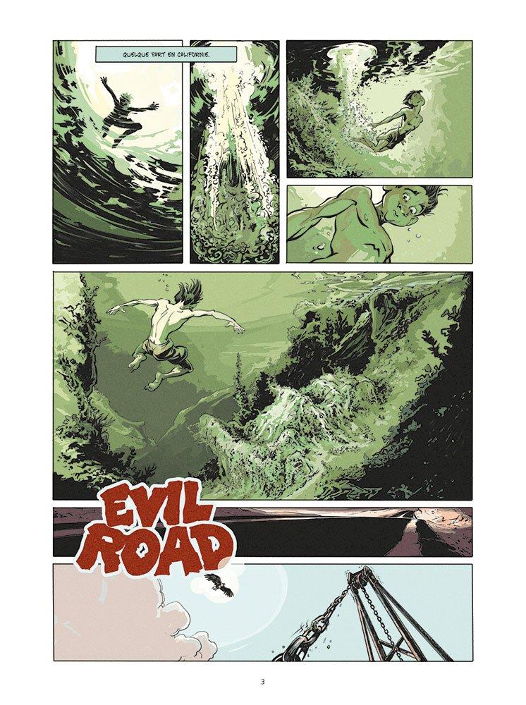 Evil road planche 1