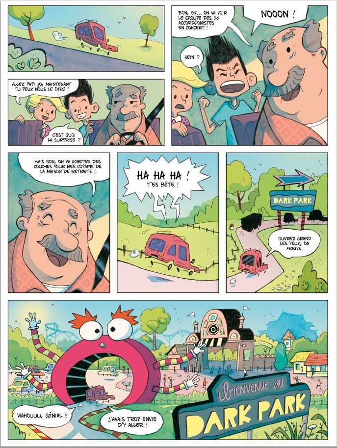 Tine et Junior page 2