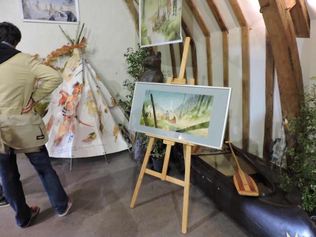exposition de Patrick Prugne au festival BD de Château-Gontier