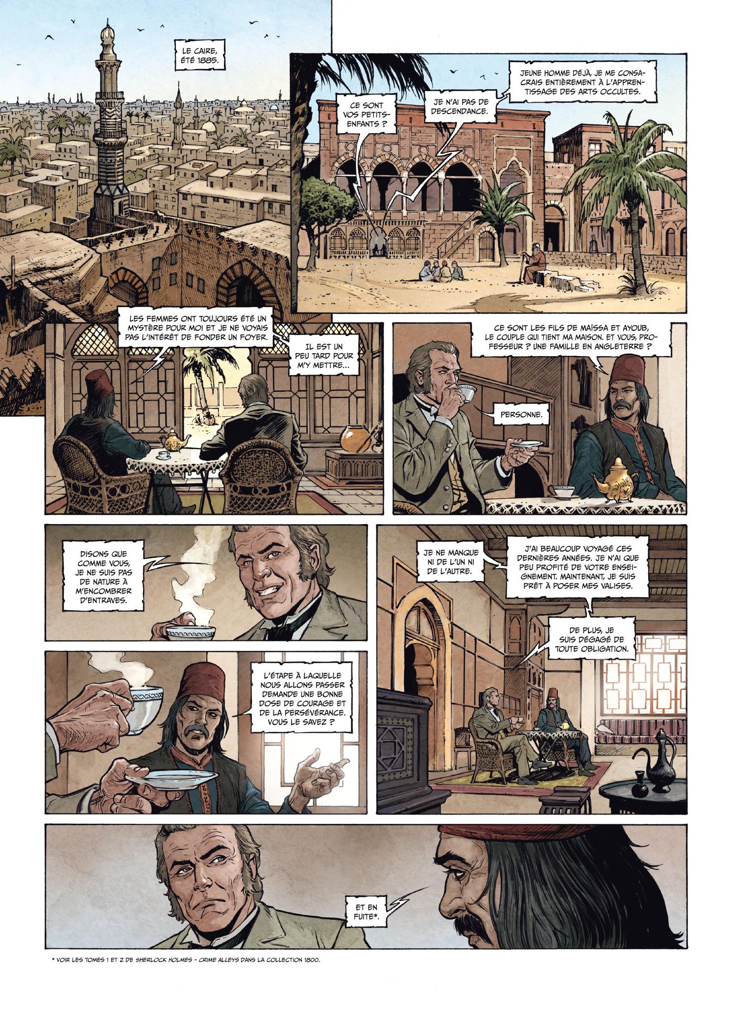 Sherlock Holmes : Les Chroniques de Moriarty #2 - La ...