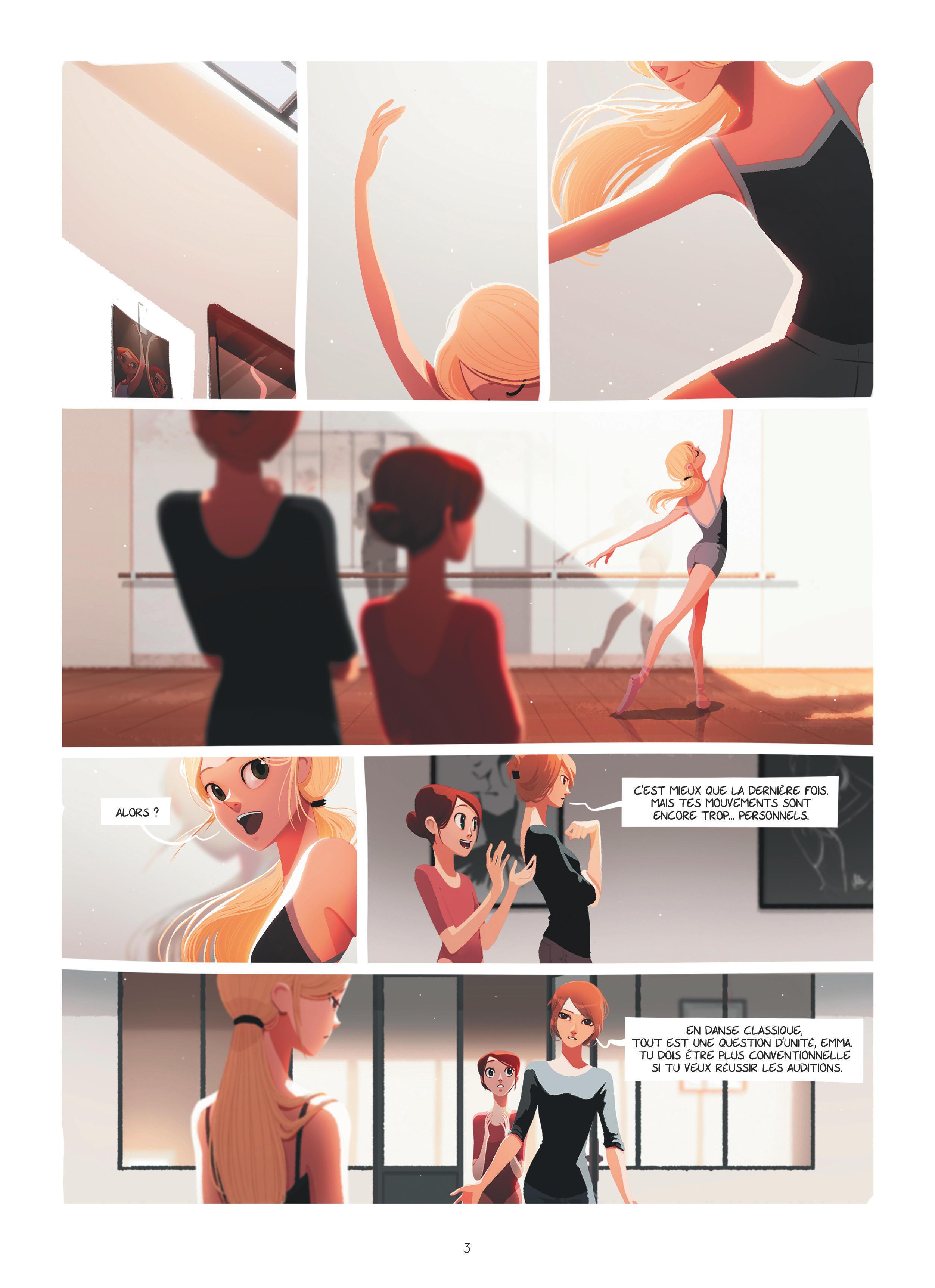Emma et Capucine #1 planche 1