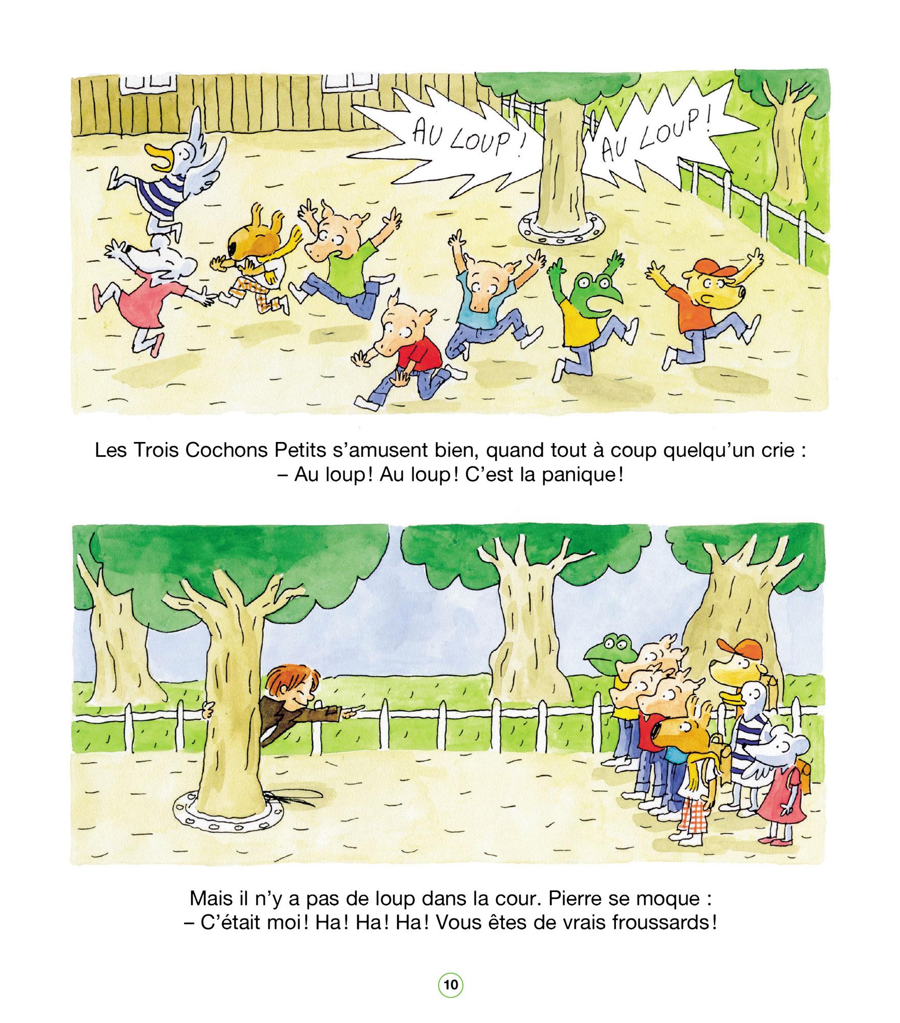 les trois petits cochons pdf